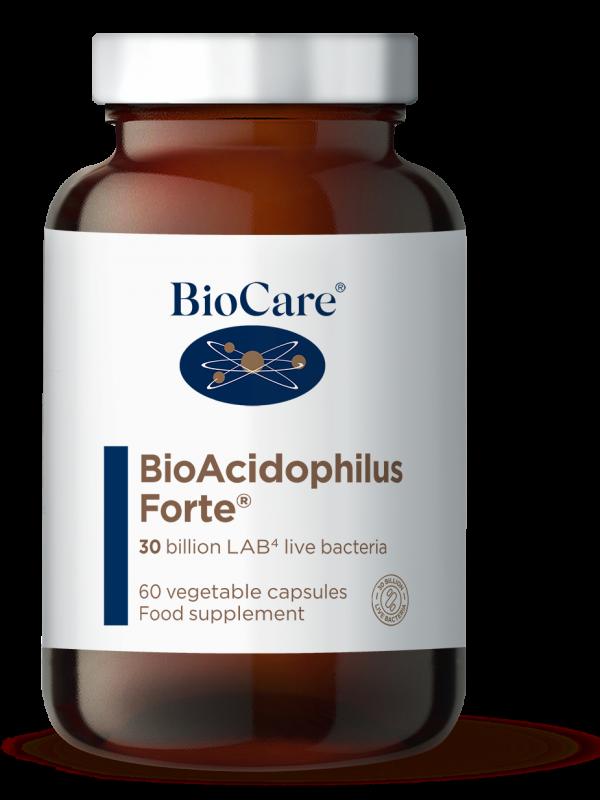BioAcidophilus Forte probiootikumid BioCare