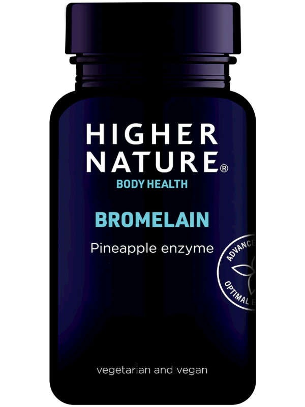 Bromelaiin Higher Nature