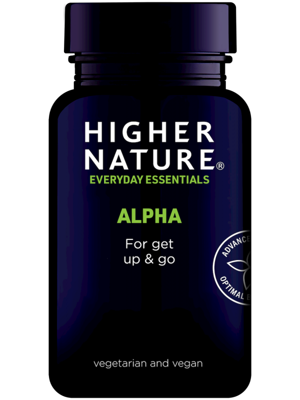 Higher Nature Alpha toidulisand