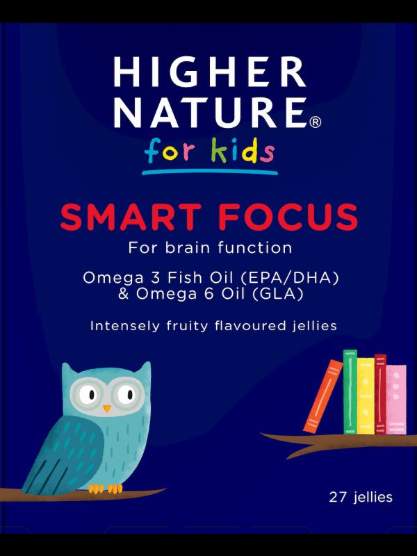 Higher Nature Smart Focus laste kalaõli