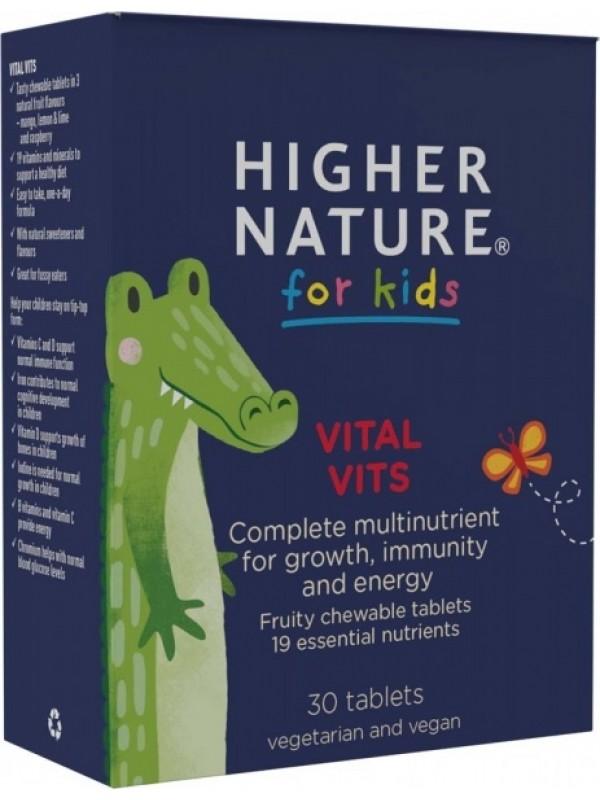 Laste multivitamiinid Higher Nature