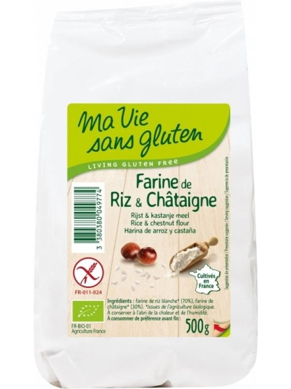 MaVie riisi-kastanijahu GV 500g