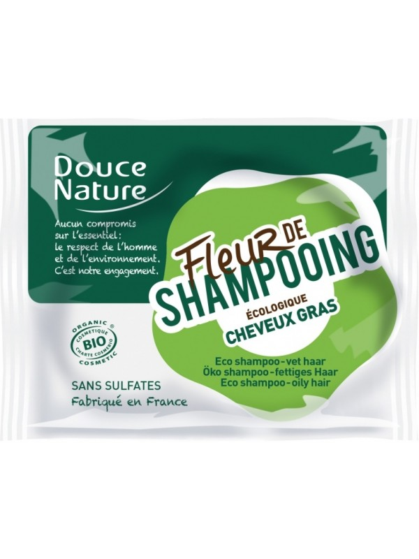 Douce Nature tahke sampoon rasustele juustele 85g
