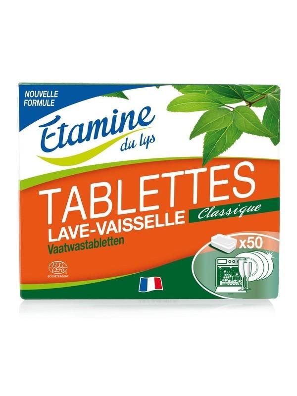 E.D.L Nature nõudepesumasina tabletid aktiivhapnikuga 50 tk