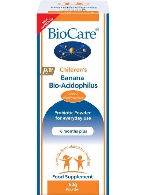 Laste BioAcidophilus banaanimaitseline 60g