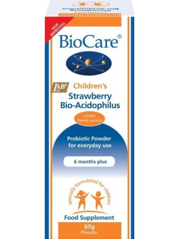 Laste BioAcidophilus maasikamaitseline 60g