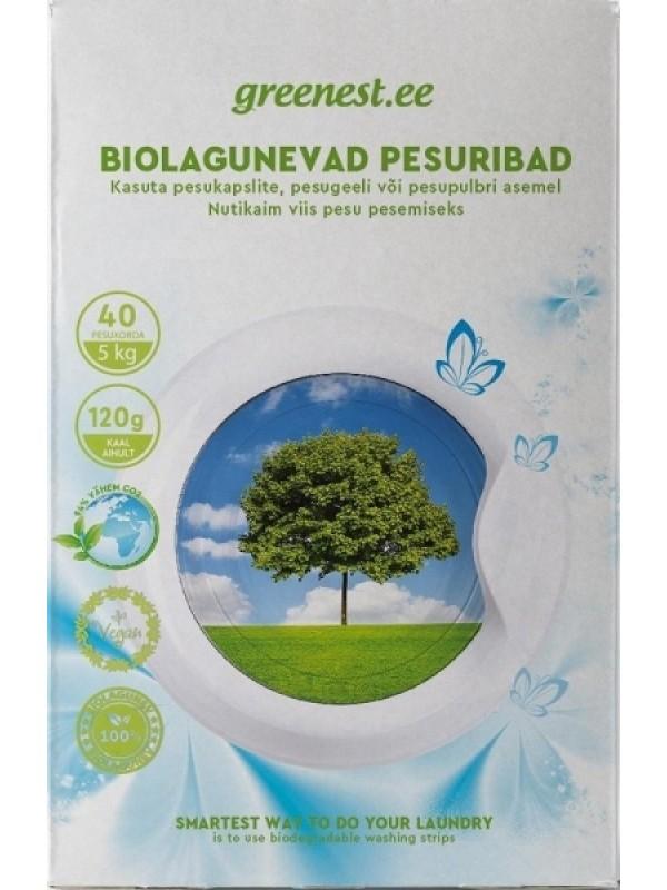 Biolagunevad pesuribad masinpesuks 40 tk