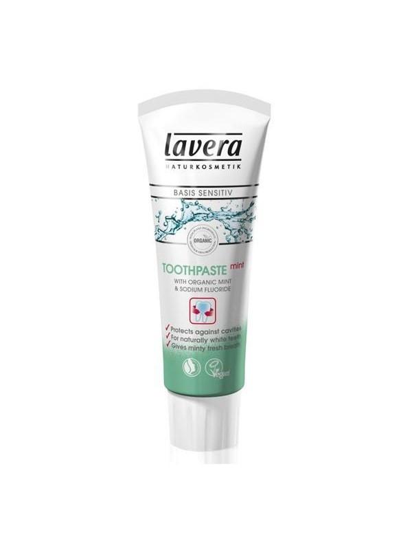 Lavera hambapasta piparmündiga 75 ml (flooriga)