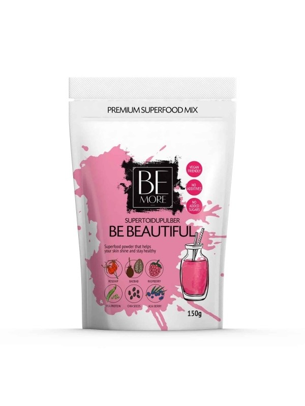 Be Beautiful supertoidupulber 150g