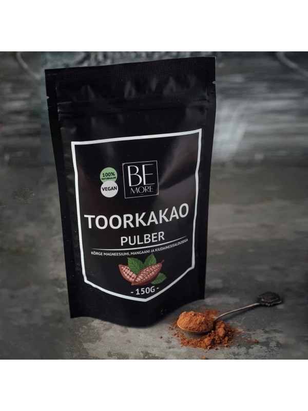 Be More toorkakaopulber 150g