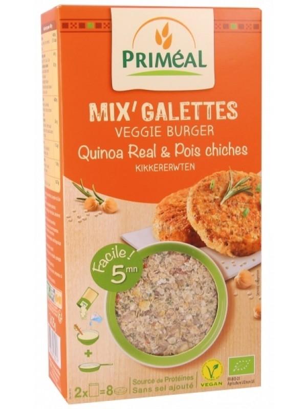 **Primeal vegan kotletid erinevate teraviljade ja aedviljaga 2x125g -30%