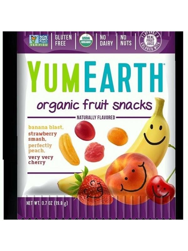 YumEartH puuvilja kummikommid 20g