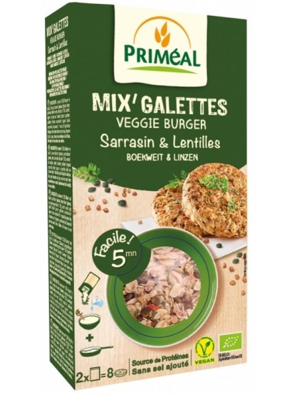 Primeal vegan kotletid erinevate teraviljade, tatra ja roheliste läätsedega 2x125g