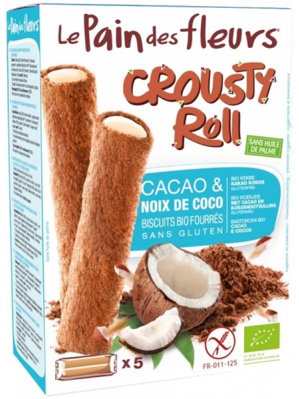 LePain vahvlirullid kakaoga ja kookose kreemitäidisega 125 g