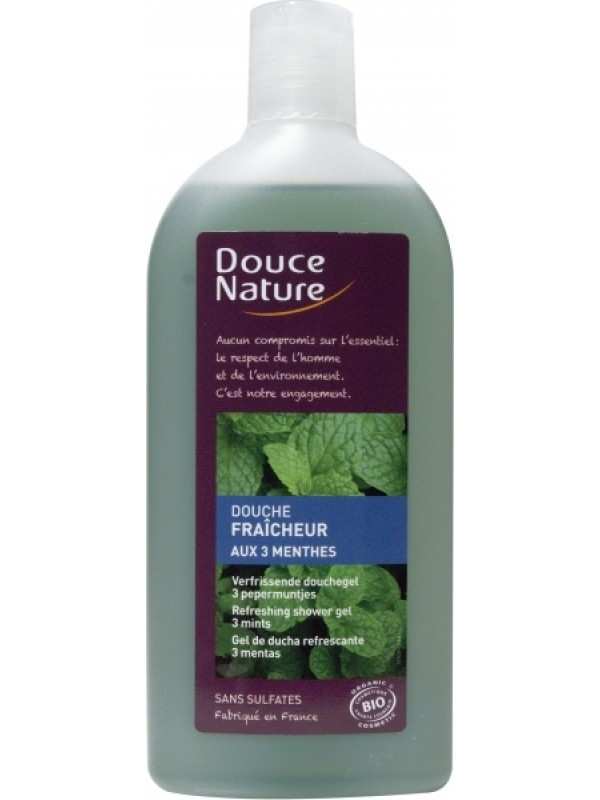 Douce Nature dušigeel kolme mündi 300 ml