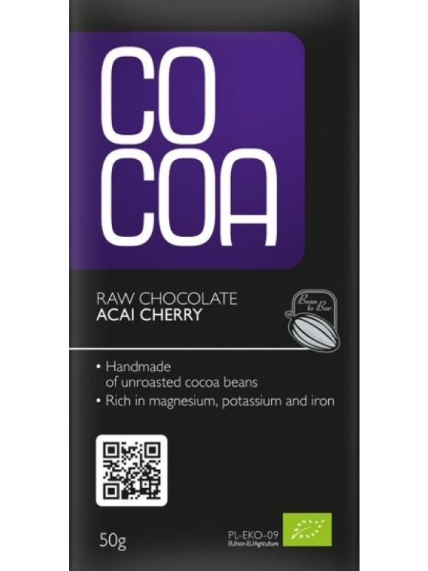 Cocoa šokolaad kirsi-akai marjadega 50g