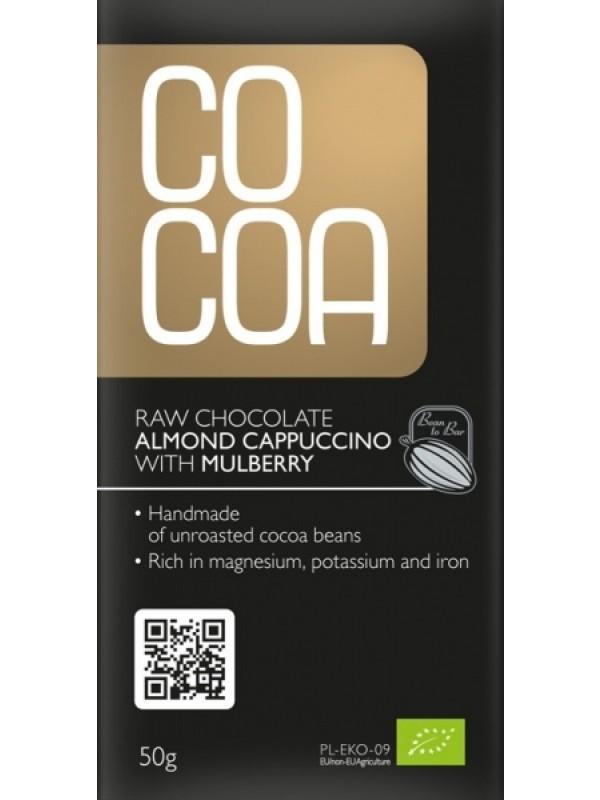 Cocoa tooršokolaad mandli-cappuccino 50 g
