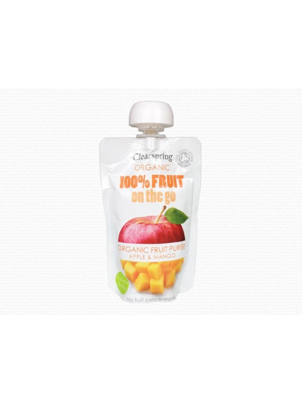 Clearspring õuna-mango püree 120g