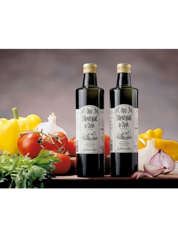 Itaalia extra virgin oliiviõli ÖKO 750 ml