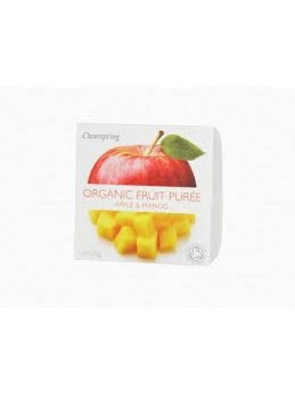 Clearspring õuna-mango puuviljapüree 2x100g