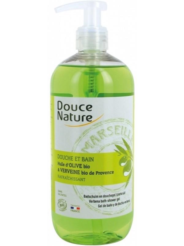 Douce Nature duši- ja vannigeel oliivi ja sidrunheinaga 500 ml