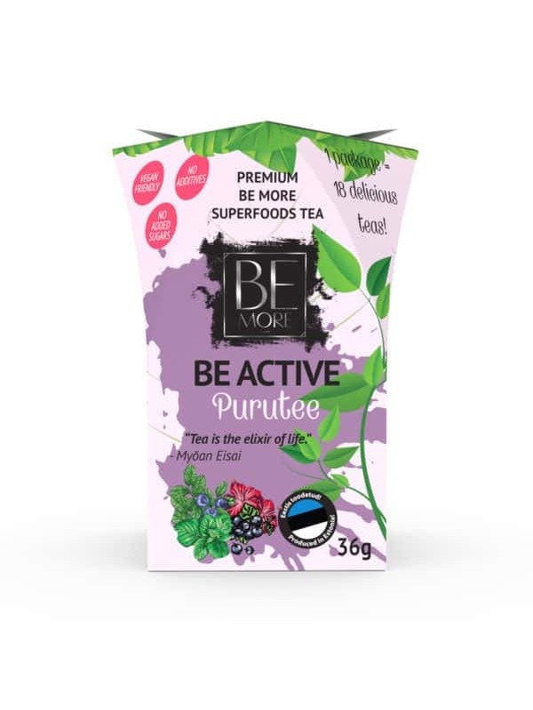 Be Active purutee 36g