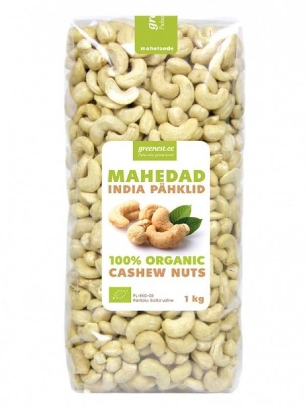 Greenest mahedad preemiumklassi india pähklid 1kg