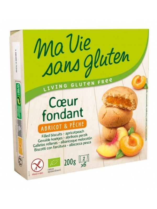 Gluteenivabad küpsised aprikoosi-virsiku täidisega 200g