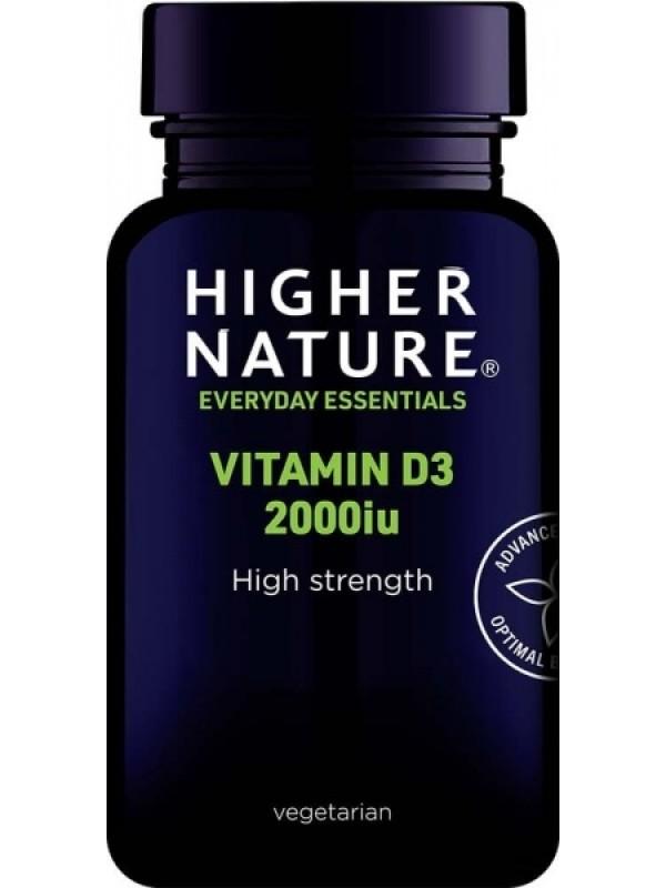 *Vitamiin D3 2000iu 60 kaps