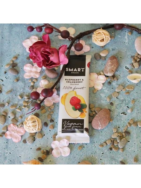 Smart vaarika- jõhvika puuvilja batoonike 30g