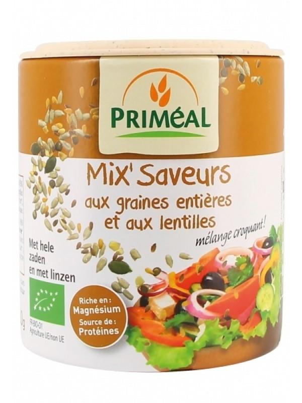 Primeal maitseainesegu salatile erinevate seemnete ja läätsega 110g