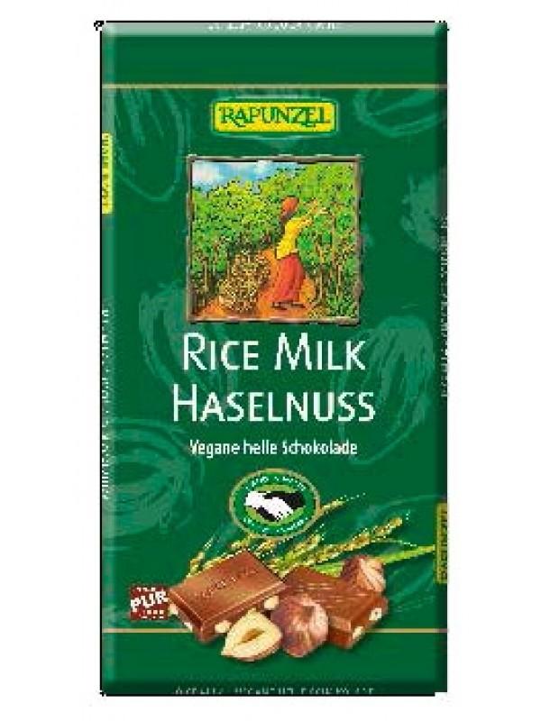 Rapunzel riisipiimašokolaad sarapuupähklitega (vegan) 100 g