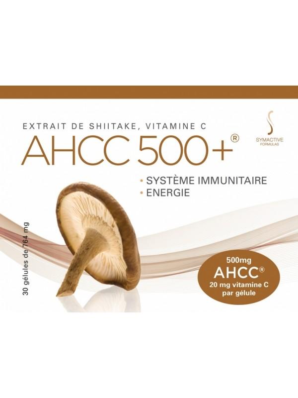 AHCC 500+ Shiitake ekstrakt C vitamiiniga 30 caps