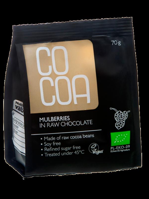 Cocoa mooruspuu marjad toorsokolaadis 70g