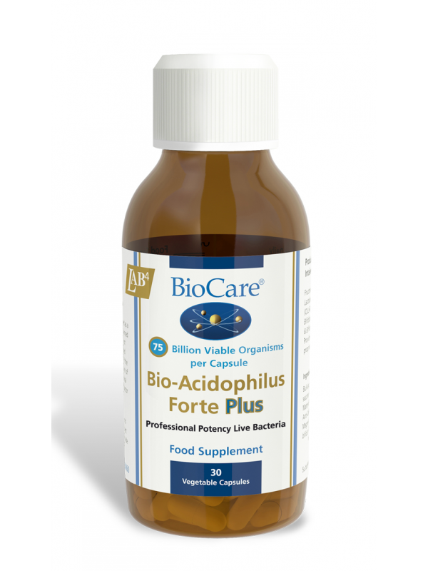 BioAcidophilus Forte Plus (75 miljardit) 30 kaps