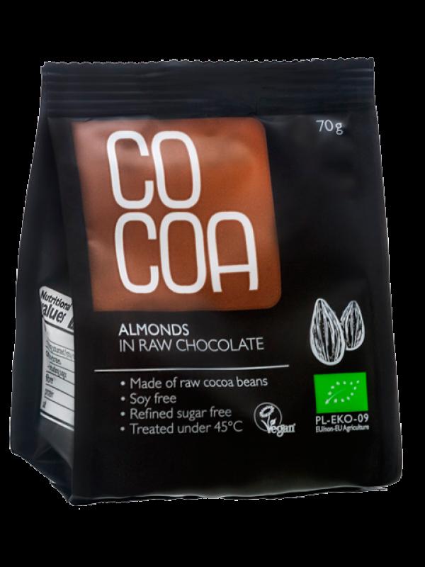 Cocoa mandlid tooršokolaadis 70g