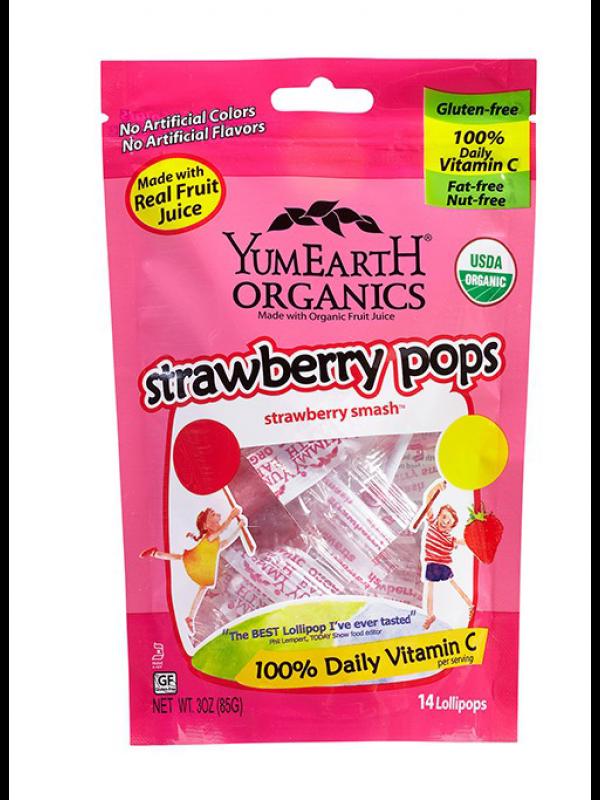 YumEartH maasika pulgakommid 85g