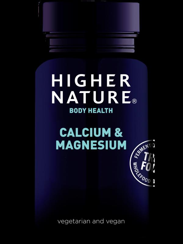 True Food kaltsium ja magneesium 60 tab