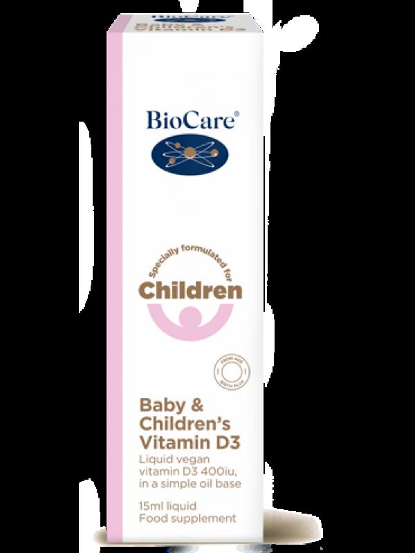 Vitamiin D3 beebidele ja lastele 15 ml
