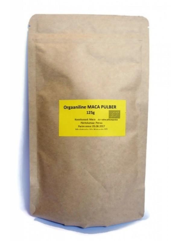 Bulk orgaaniline maca pulber 125 g
