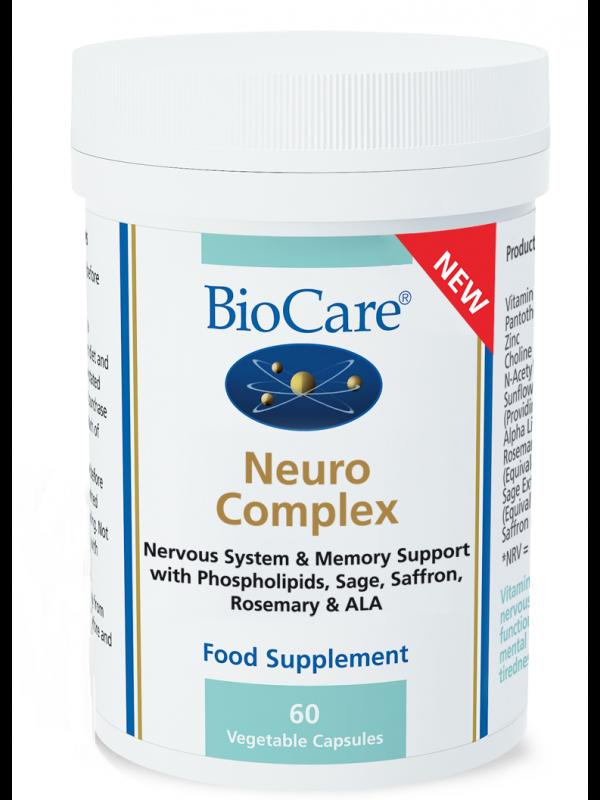 Neuro Kompleks närvisüsteemile ja mälule 60 kaps