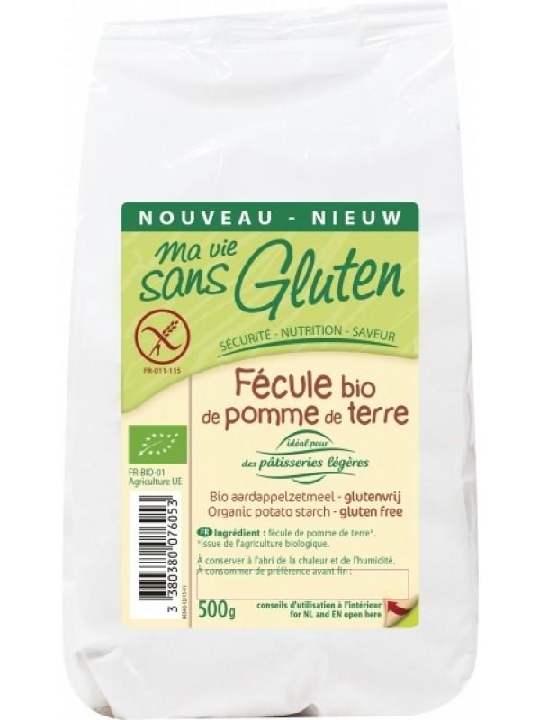 MSG gluteenivaba kartulitärklis 500 g