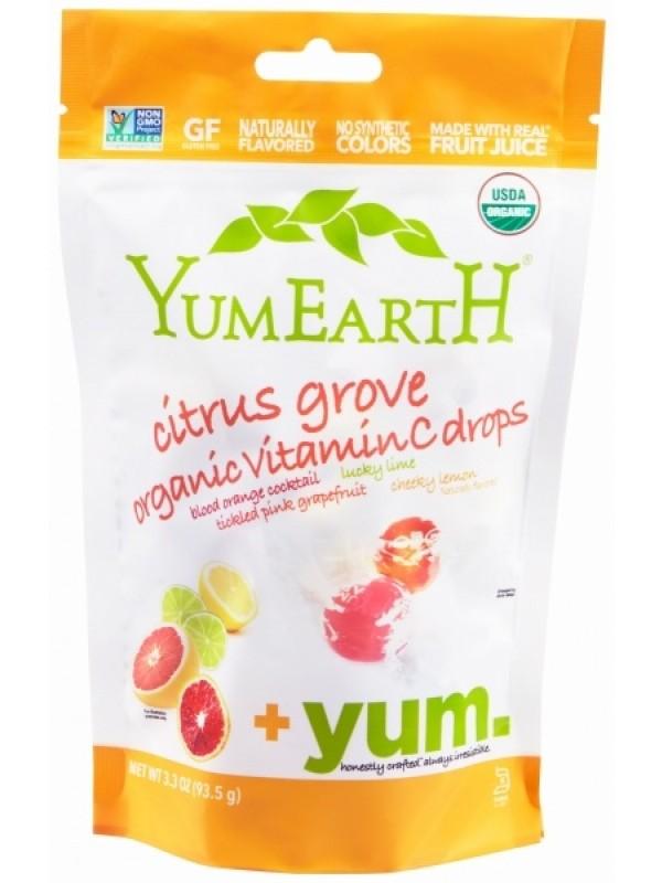YumEartH tsitruse karamellid 93,5g