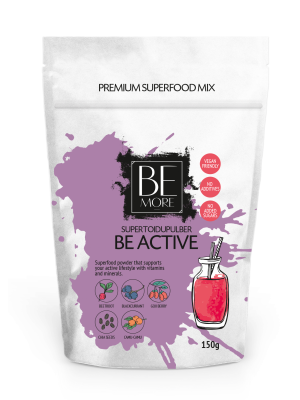 Be active supertoidupulber 150g