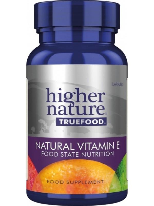 True Food looduslik E vitamiin 90 tab