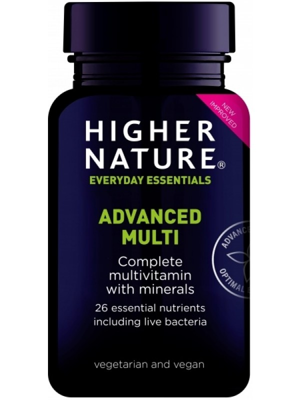 laiatoimeline multivitamiin Higher Nature