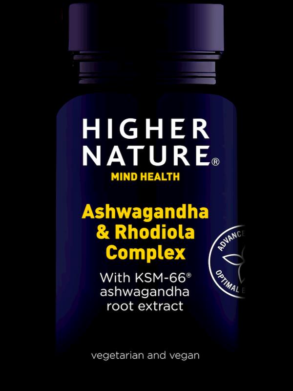 Ashwagandha & Rhodiola kompleks 30 kaps