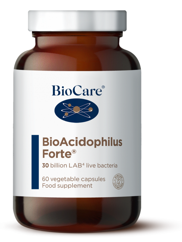 BioAcidophilus Forte (30 miljardit) 60 kaps