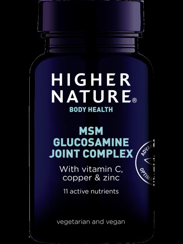 *MSMi ja glükoosamiiniga liigeste kompleks 240 tab
