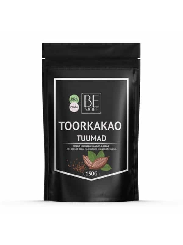 Be More toorkakao tuumad 150g